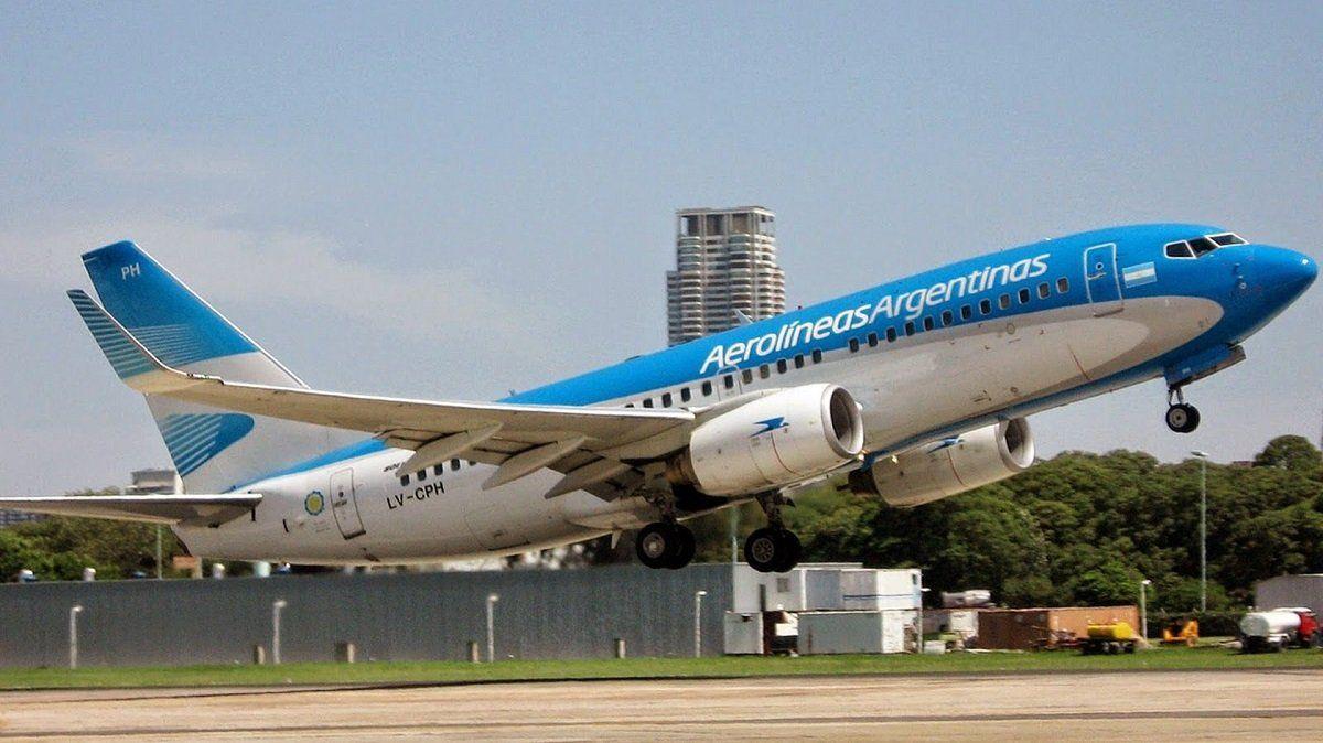 Un hombre se descompensó en elvuelo 1133 de Aerolíneas Argentinas