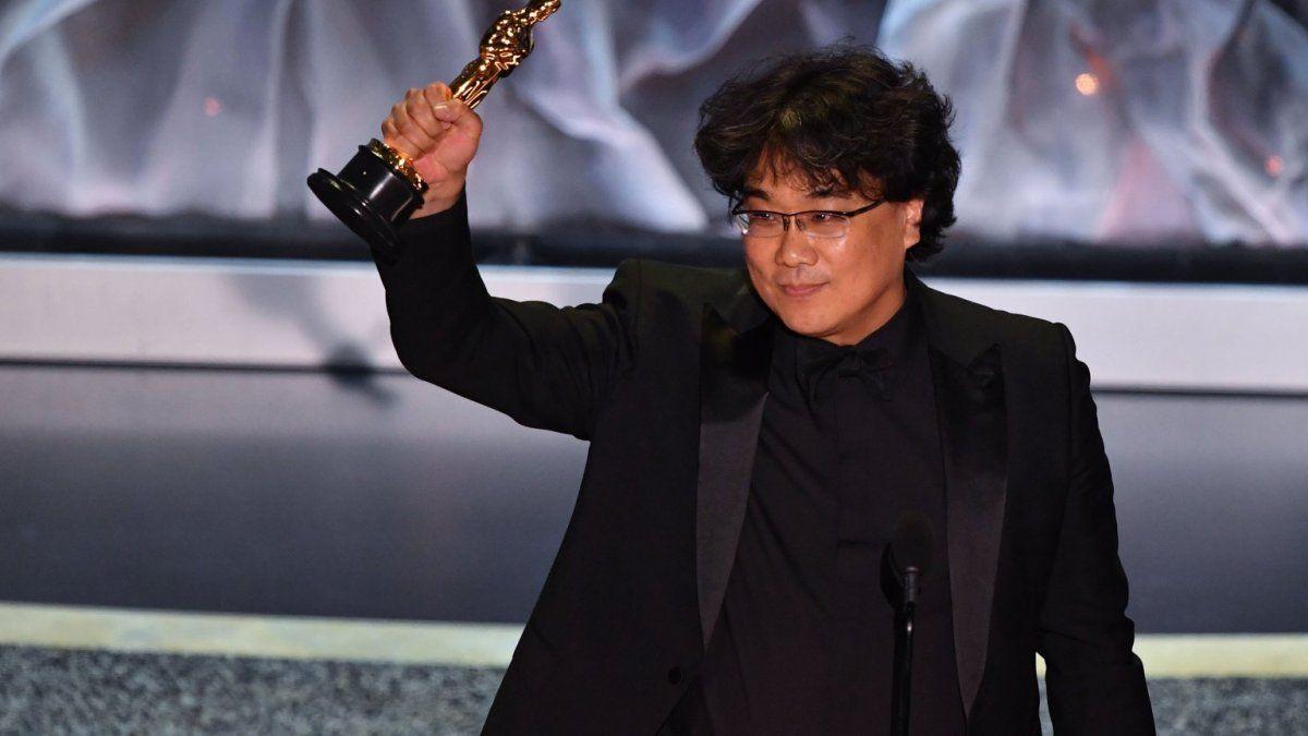 La película dirigida por Bong Joon Ho se llevó la máxima estatuilla.