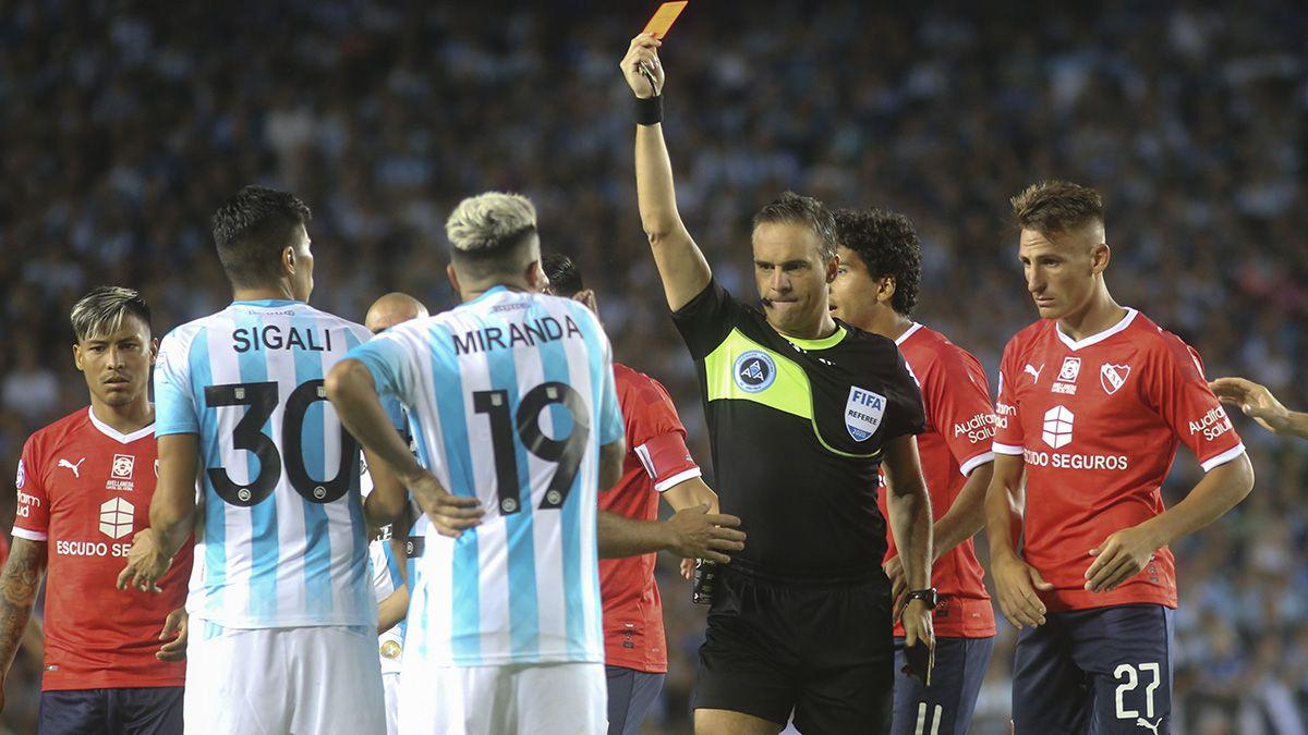 Racing se impuso 1 a 0 ante Independiente.