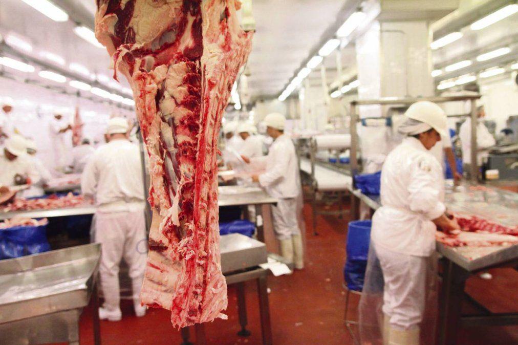La exportación de carne se verá seriamente afectada por el parate en China