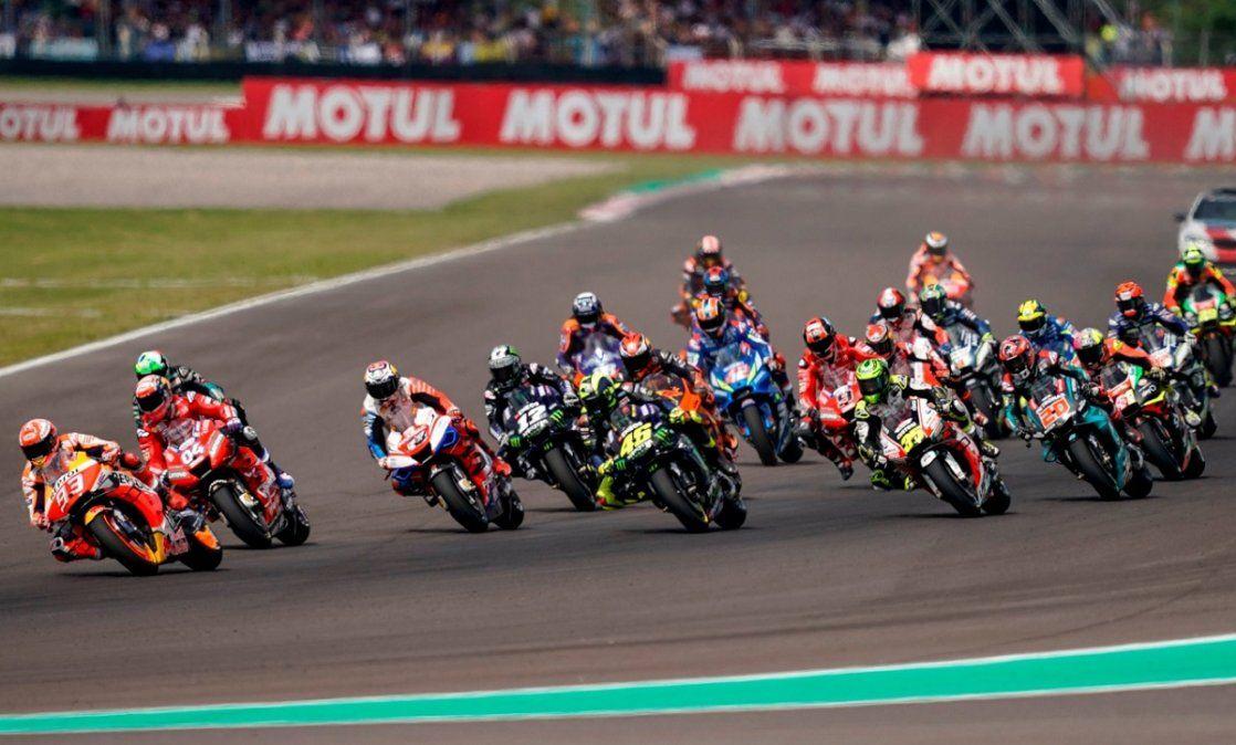 El MotoGP quedó descartado para este año en Argentina.