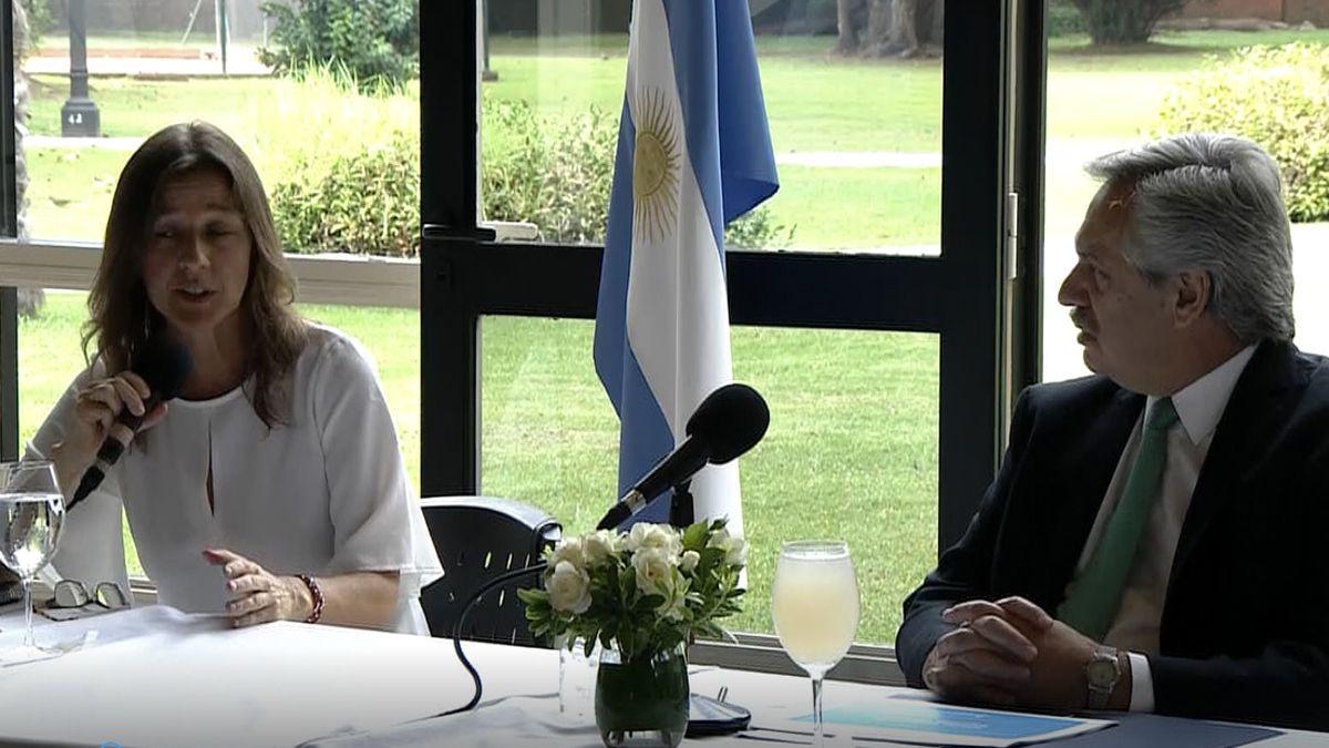 La ministra de Seguridad se reunió en Olivos con el presidente Fernández