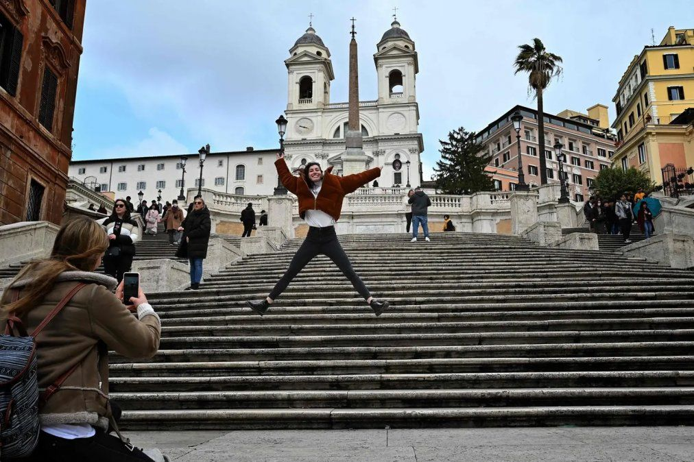 Roma. El turismo emisivo argentino tuvo una reducción importante durante este verano