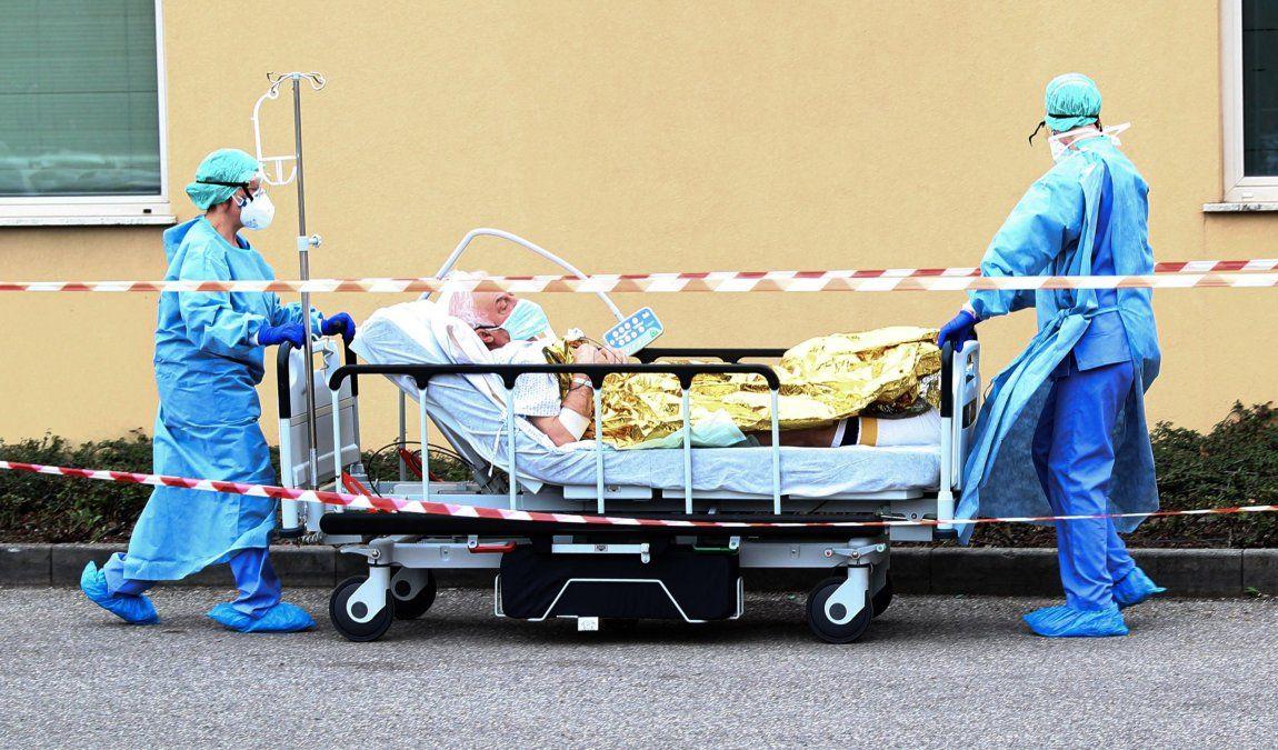Italia:Se registraron 712 muertes y 4.492 nuevos casos de Covid-19 en las últimas 24 horas.