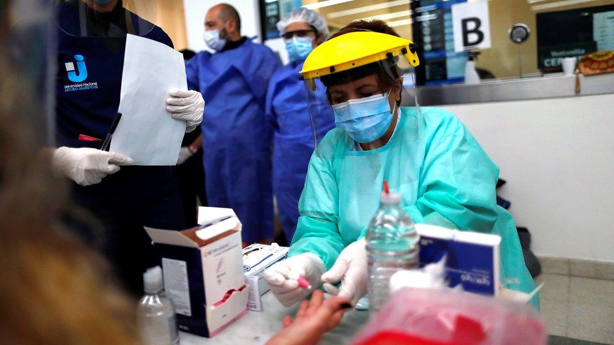 Aumentaron a 1.283 los muertos por coronavirus en el país