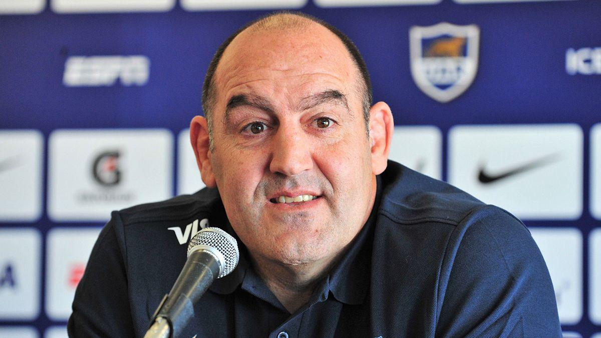 El entrenador de Los Pumas dijo que no puede hablar de cuando será el próximo partido por que todo es muy incierto