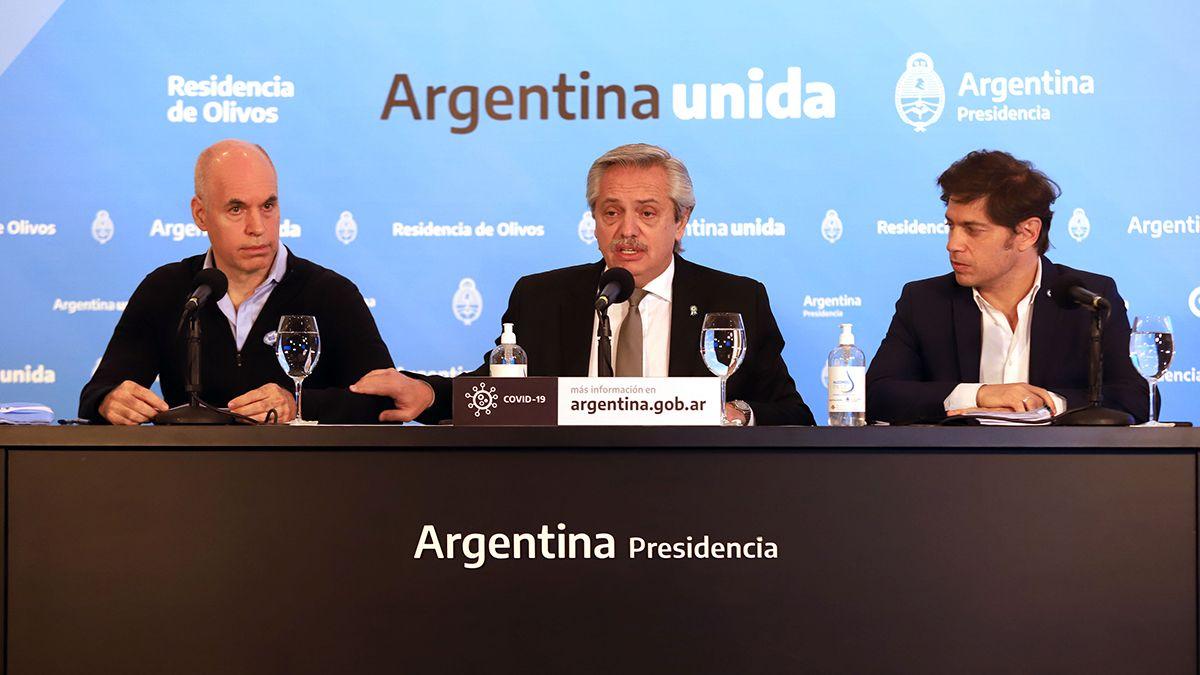 Fernández anunció que la cuarentena sigue hasta el 7 de junio