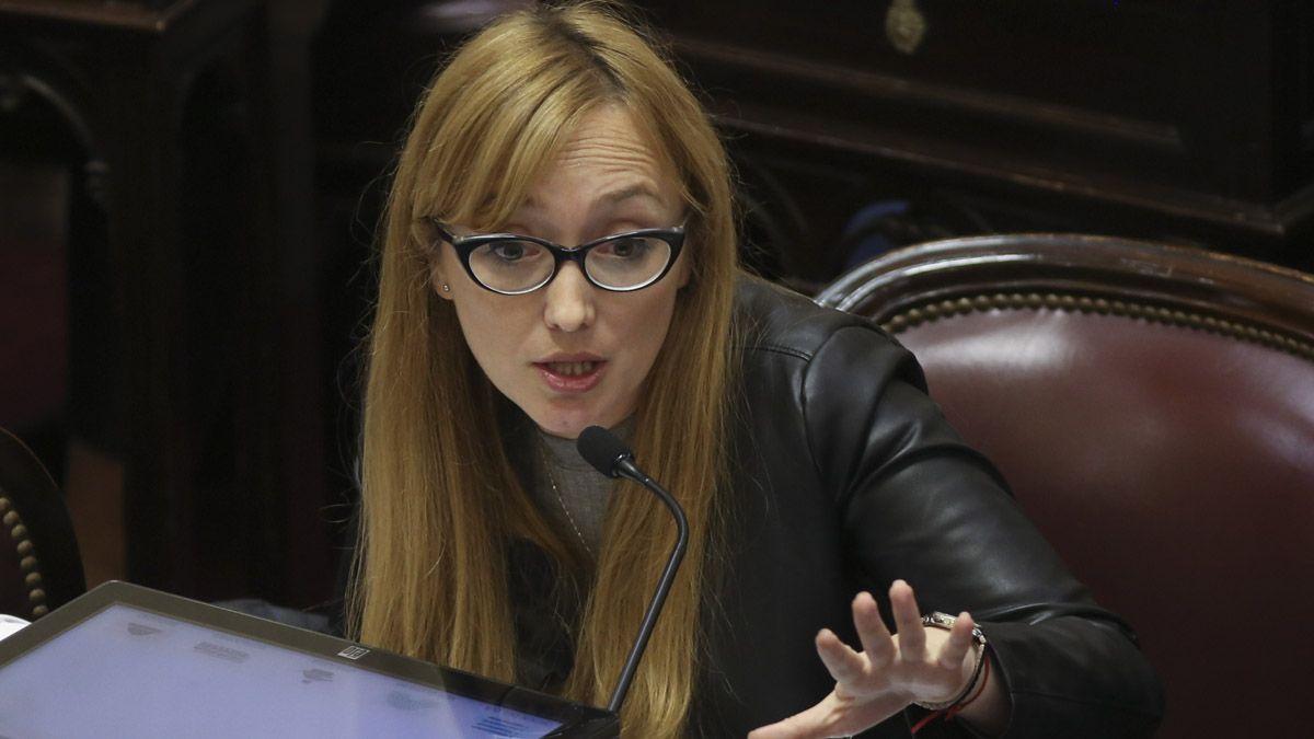 Anabel Fernández Sagasti aseguró que la ley de Alquileres se ...