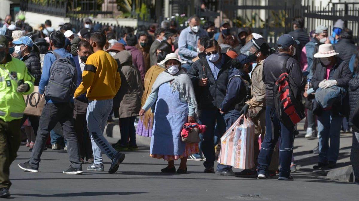 Movilizaciones en Bolivia por el aplazo de las elecciones