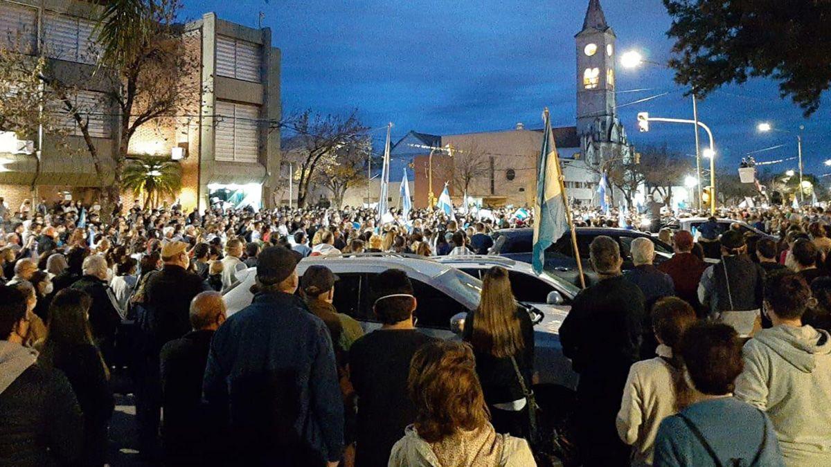 El reclamo en Avellaneda tras la decisión del Gobierno de intervenir Vicentin.