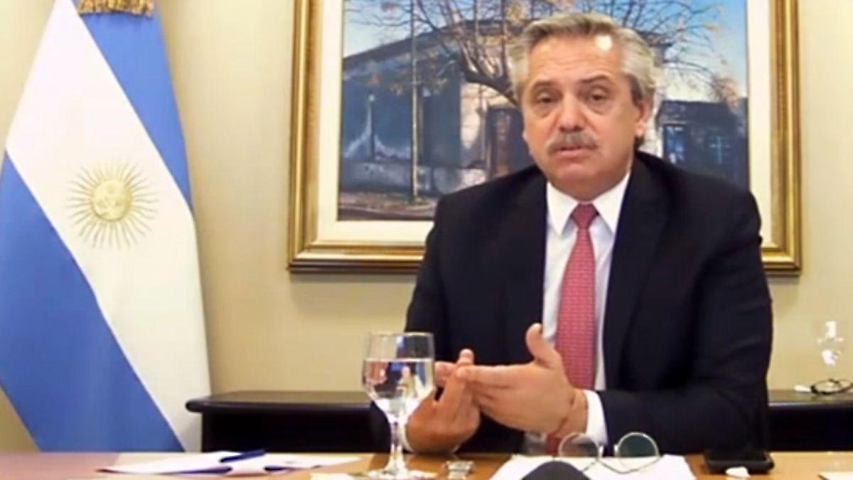 El presidente Alberto Fernández aseguró esta mañana que pretendía rescatar a la firma Vicentin.