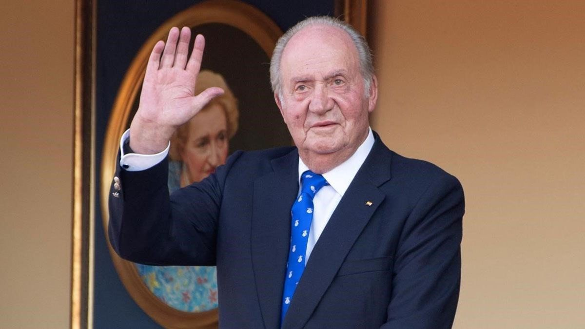 El rey emérito Juan Carlos I abandonó España