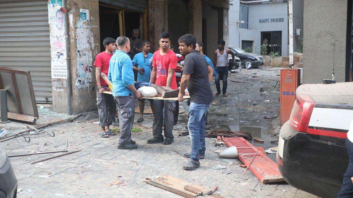 Aumentan a 154 los muertos por las explosiones en el puerto de Beirut.