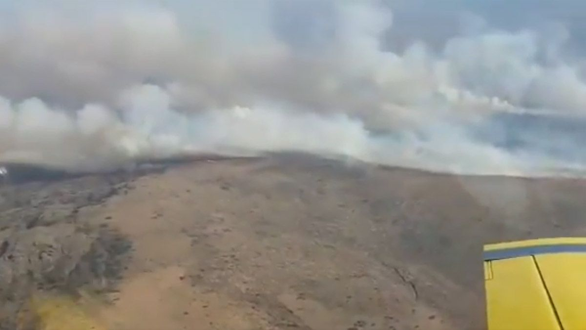 Los incendios afectan a la zona del Valle de Punilla