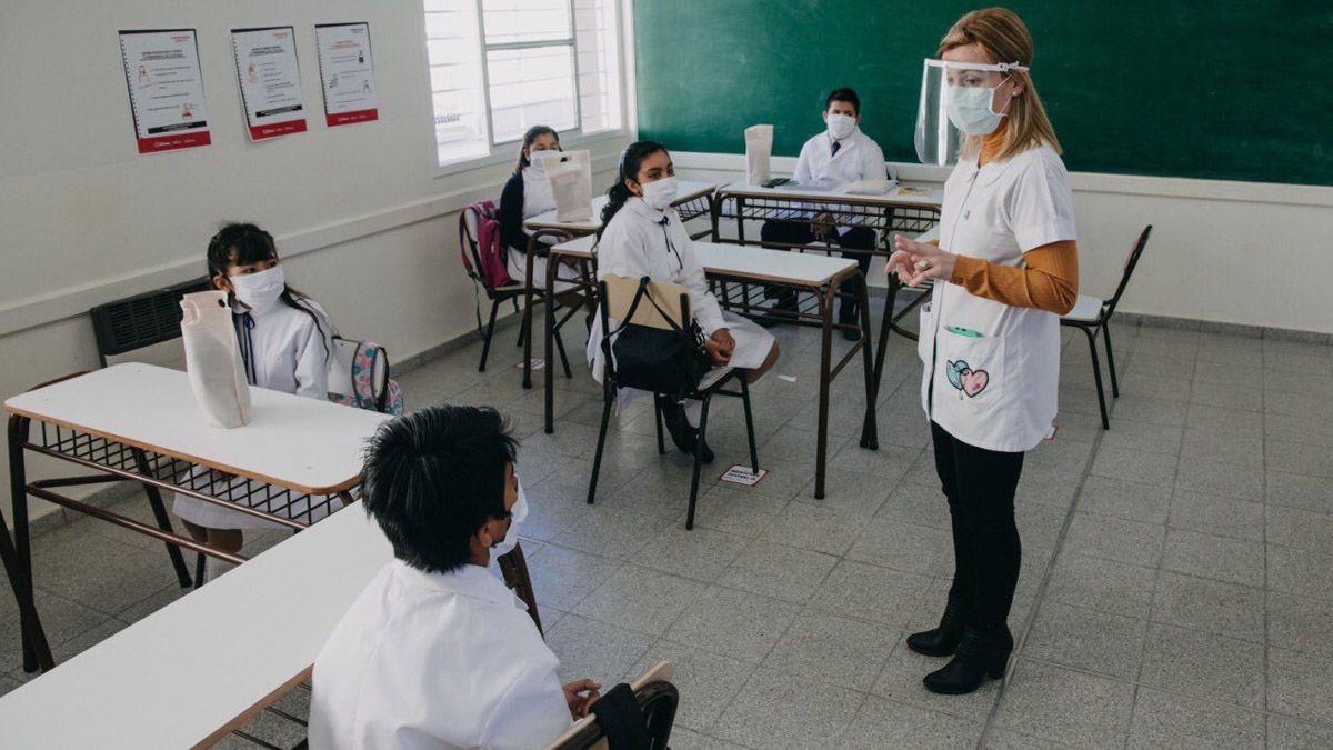 San Juan es la primera provincia en volver a las clases presenciales.
