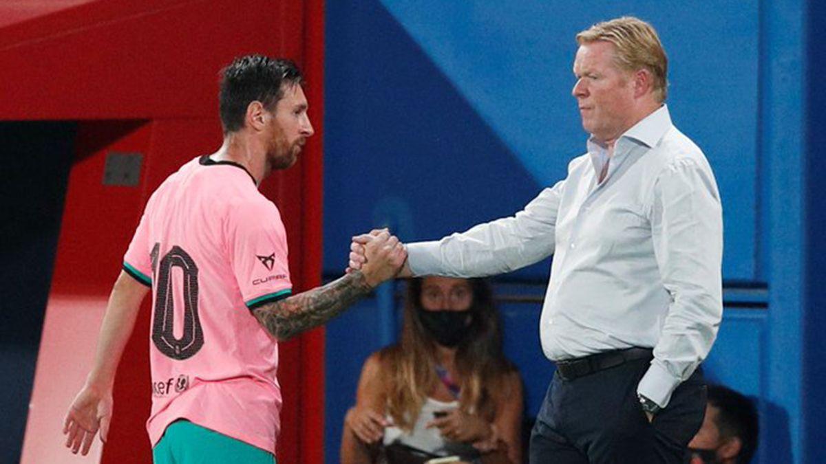 Messi marcó dos tantos en el amistoso del Barcelona