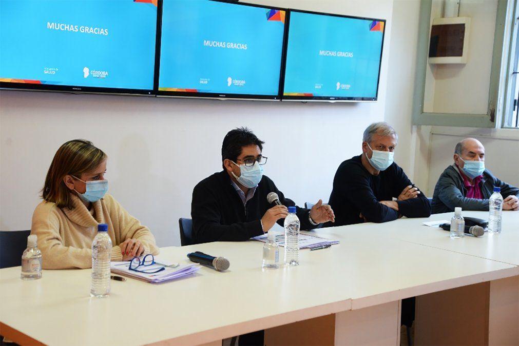Conferencia de prensa del ministro de Salud