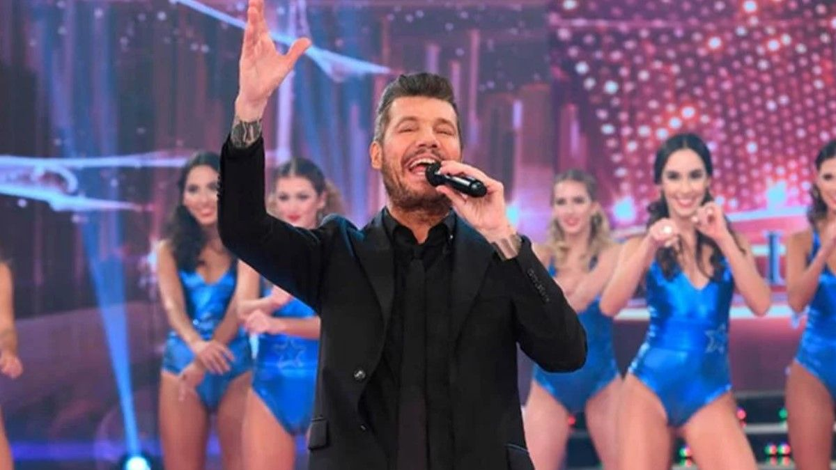 Marcelo Tinelli en ShowMatch