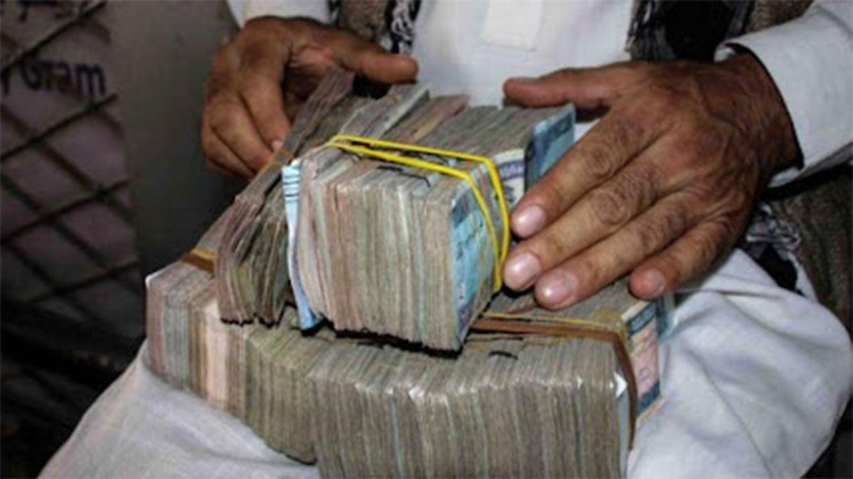 Talibanes confiscaron 6