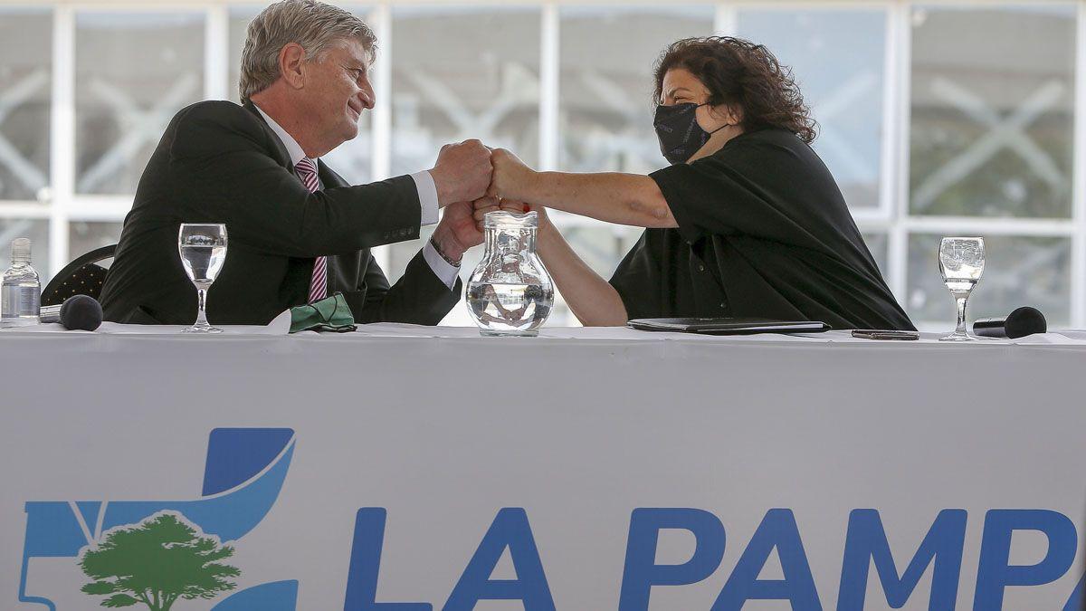 La ministra Vizzotti lanzó la nueva etapa de vacunación desde La Pampa.