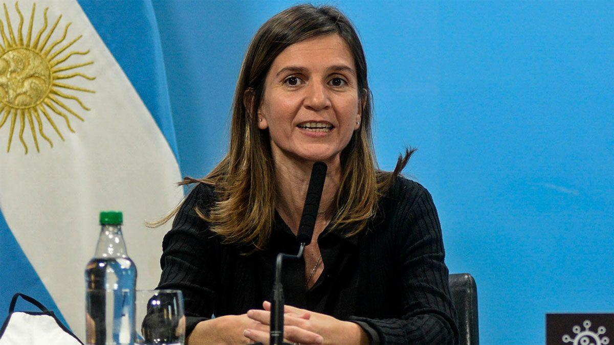 La directora Ejecutiva del ANSES
