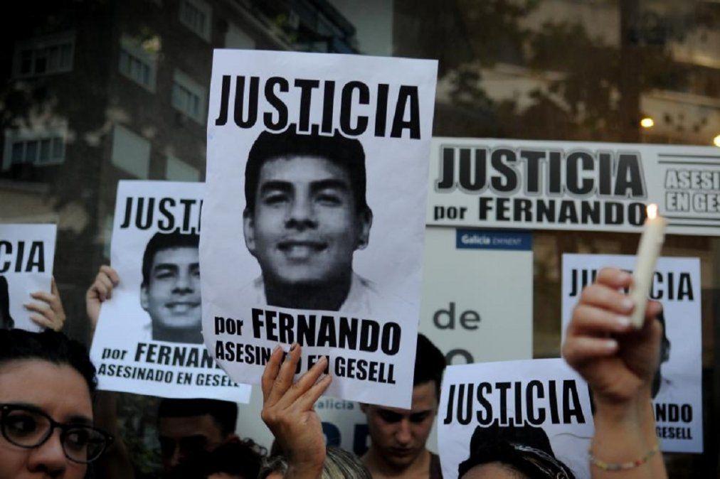 La colecta solidaria es organizada a un año del crimen de Fernando Báez Sosa.