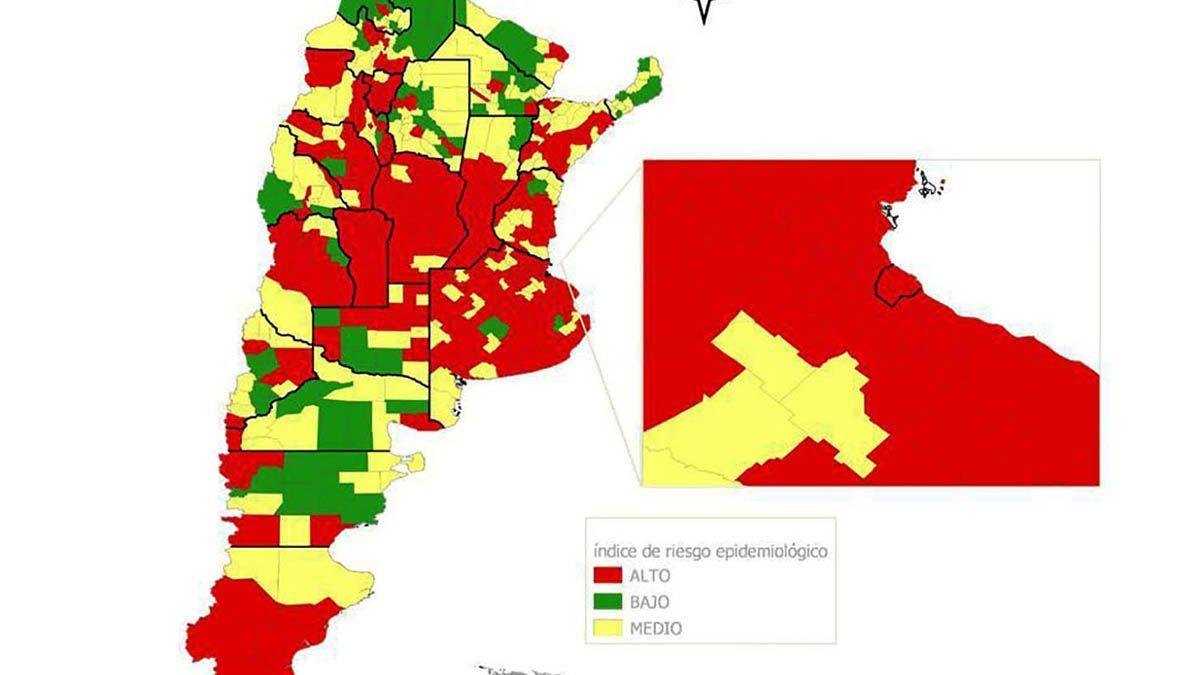 La ciudad del sur en zona roja:alto riesgo sanitario pero sin nuevas medidas