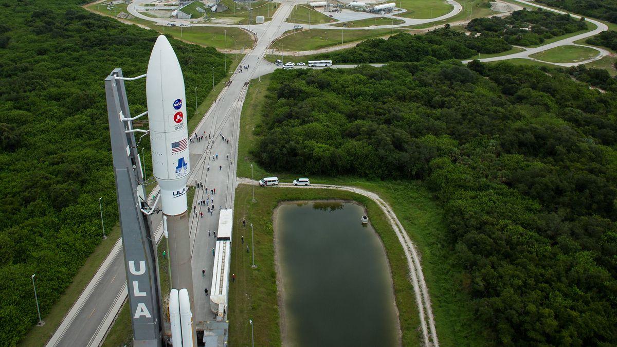 La NASA realizó el lanzamiento desde el centro espacial Kennedy de Cabo Cañaveral.