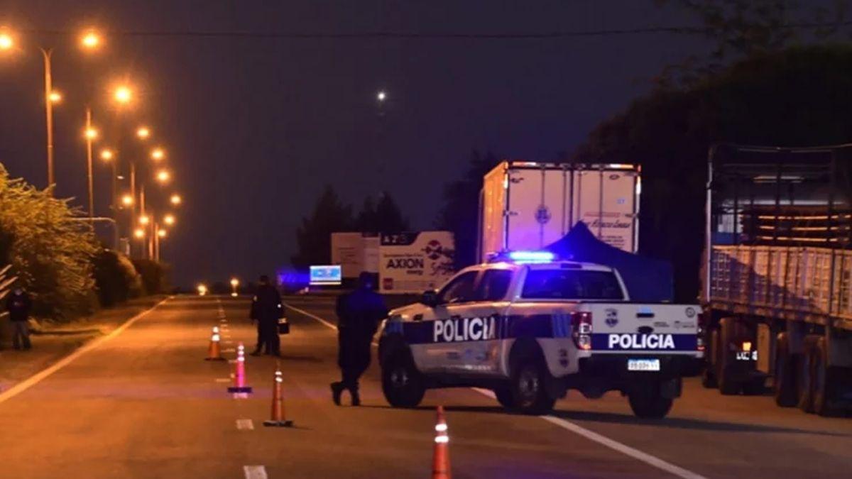 El crimen ocurrió a la vera de la Autopista de las Serranías Puntanas.