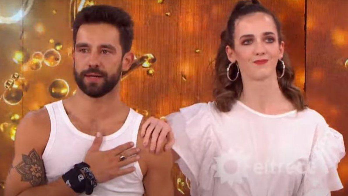 Cachete SierraeInbal Comedies la primera pareja finalista delCantando 2020.