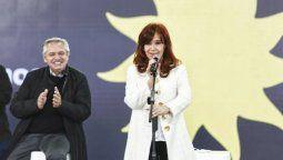 El presidenteAlberto Fernández y la vicepresidenta Cristina Fernández de Kirchner cerrarán hoy en Tecnópolis la campaña electoral nacional del Frente de Todos