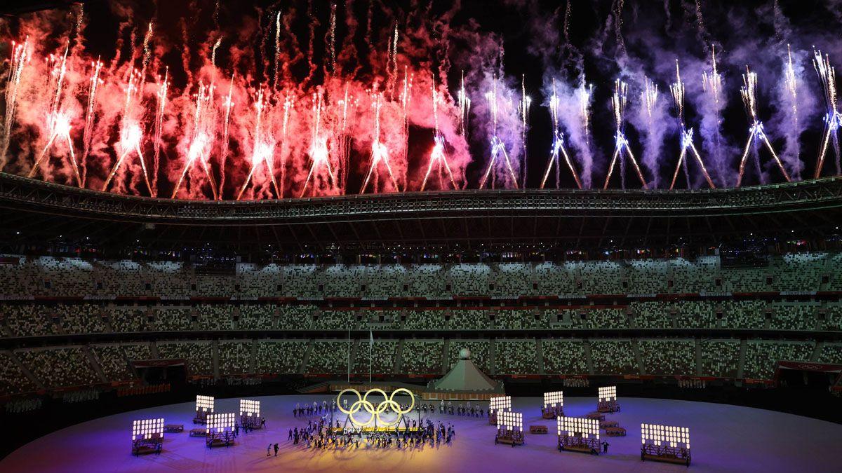 Japón mostró su potencial en la inauguración de los Juegos de Tokio.