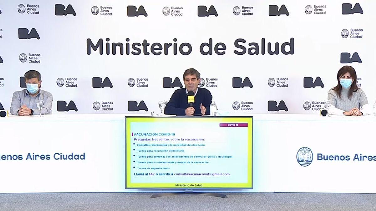 Fernán Quirós dijo que seguirán trabajando intensamente con la Nación y provincia de Buenos Aires