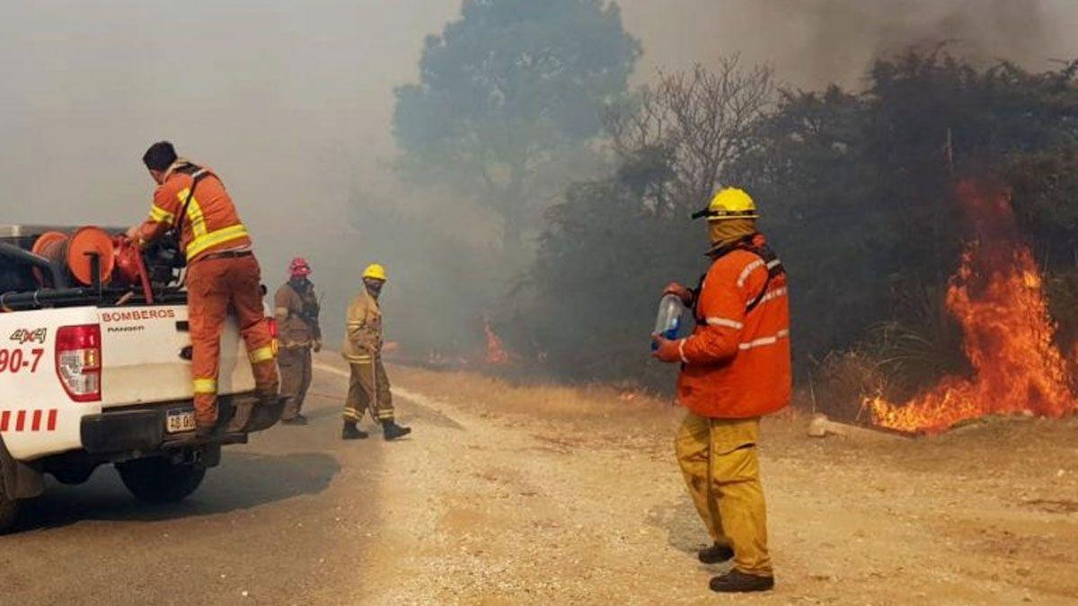 Dos muertos por los incendios en Córdoba