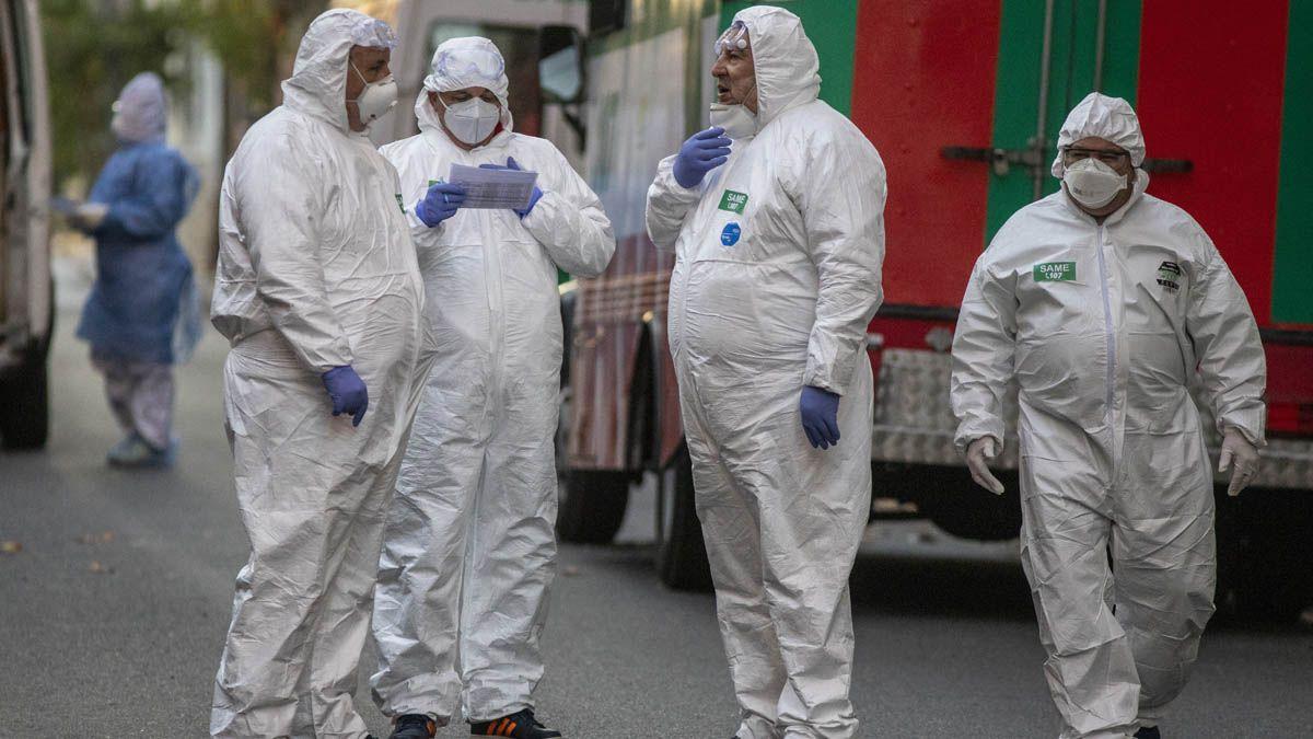 Creció 87% en dos semanas la cantidad de departamentos con alto riesgo epidemiológico en Argentina