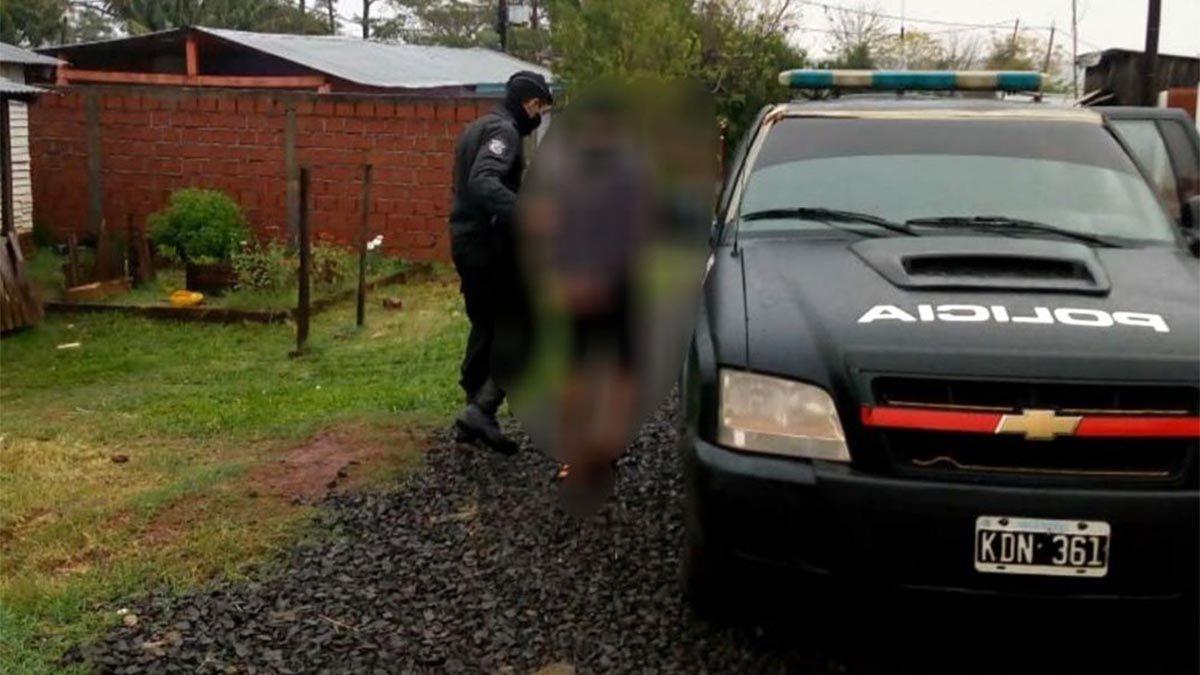 Un joven de 21 años fue detenido en las últimas horas luego de atacar a golpes a su madre