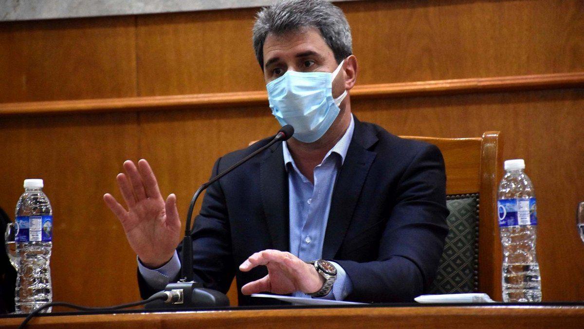 Sergio Uñac pidió mantener la calma tras el fuerte sismo