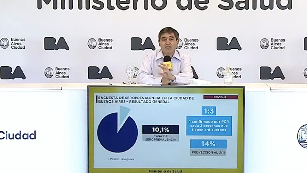 Fernán Quirós ratificó que el 17 de febrero empezarán las clases en Capital Federal