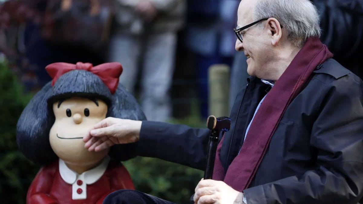 Falleció Quino, el creador de Mafalda