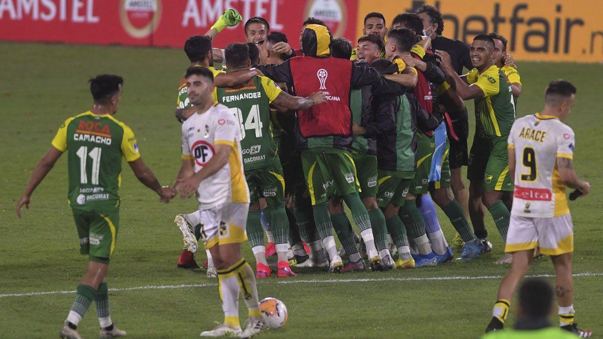 Defensa y Justicia derrotó a Coquimbo Unido en la semifinal.
