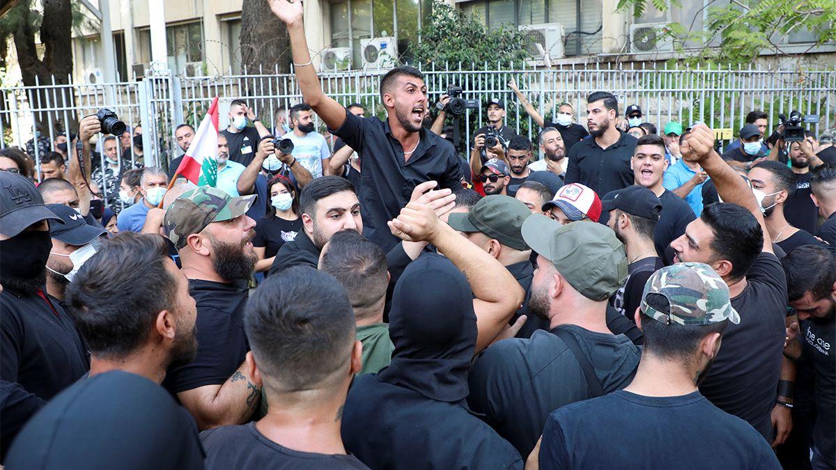 Al menos seis personas han muerto y 60 han resultado heridas en un tiroteo registrado este jueves durante una protesta en Beirut