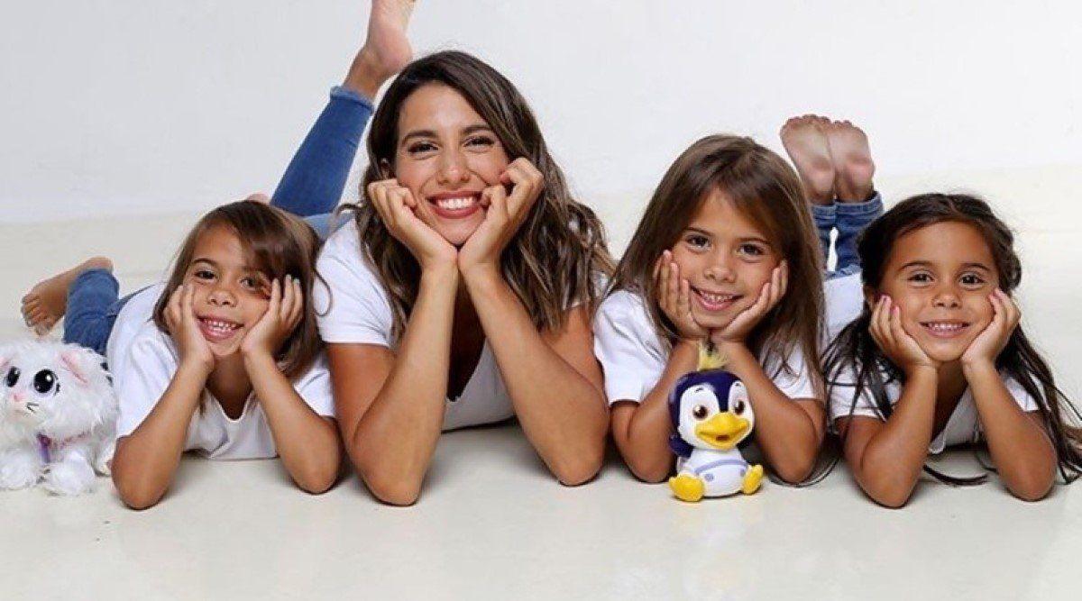 Covid-19: Cinthia Fernández y sus hijas se encuentran aisladas.