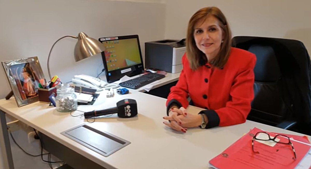 Mariana Rey Galindo es jueza de familia en Monteros