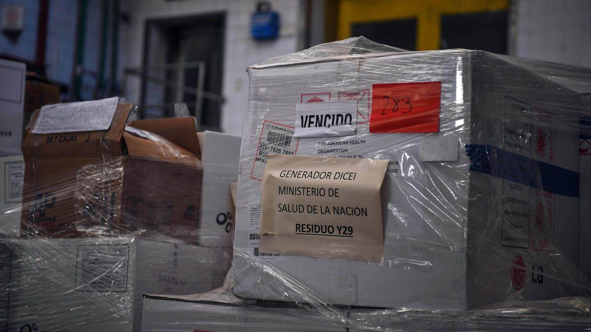 El material estaba depositado en un frigorífico de Constitución.