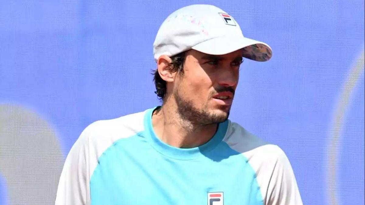 Guido Pella se resintió de una lesión y quedó fuera del Masters 1000 de Madrid.