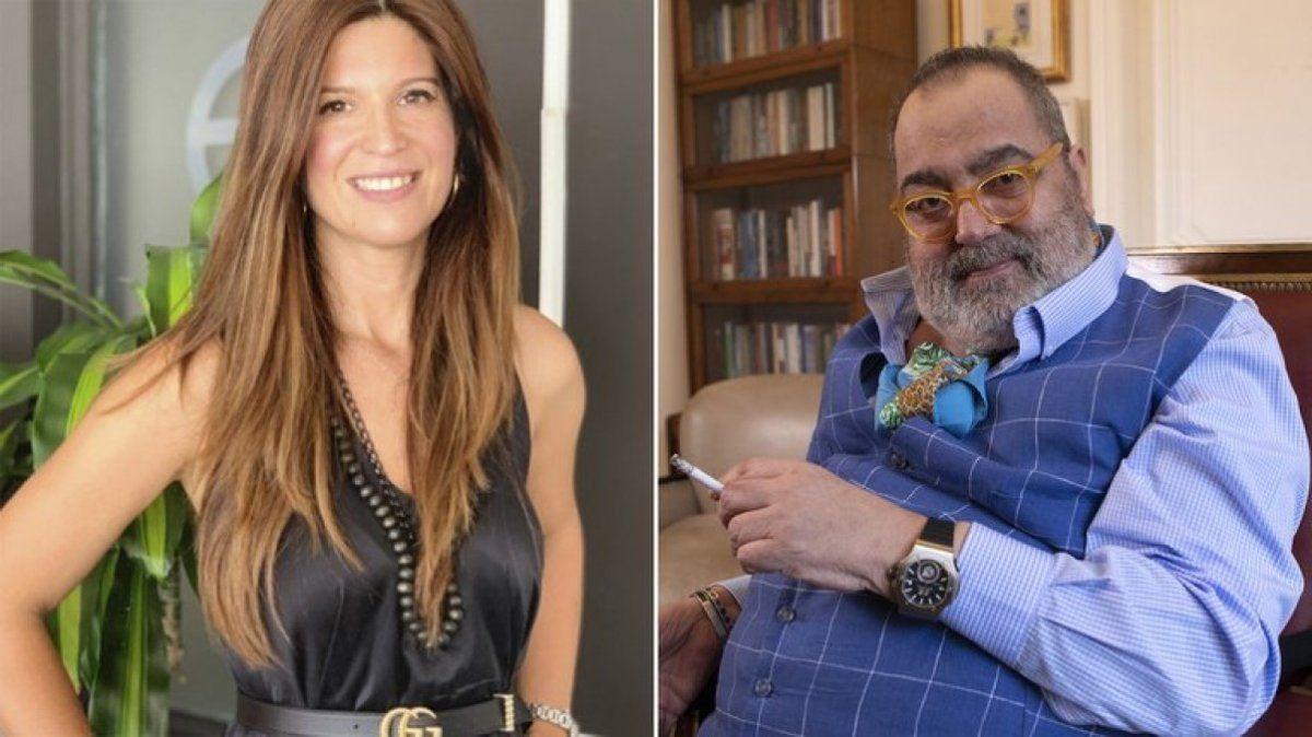 La abogada Elba Marcovecchio reveló que está en pareja con Jorge Lanata: Estoy enamorada.