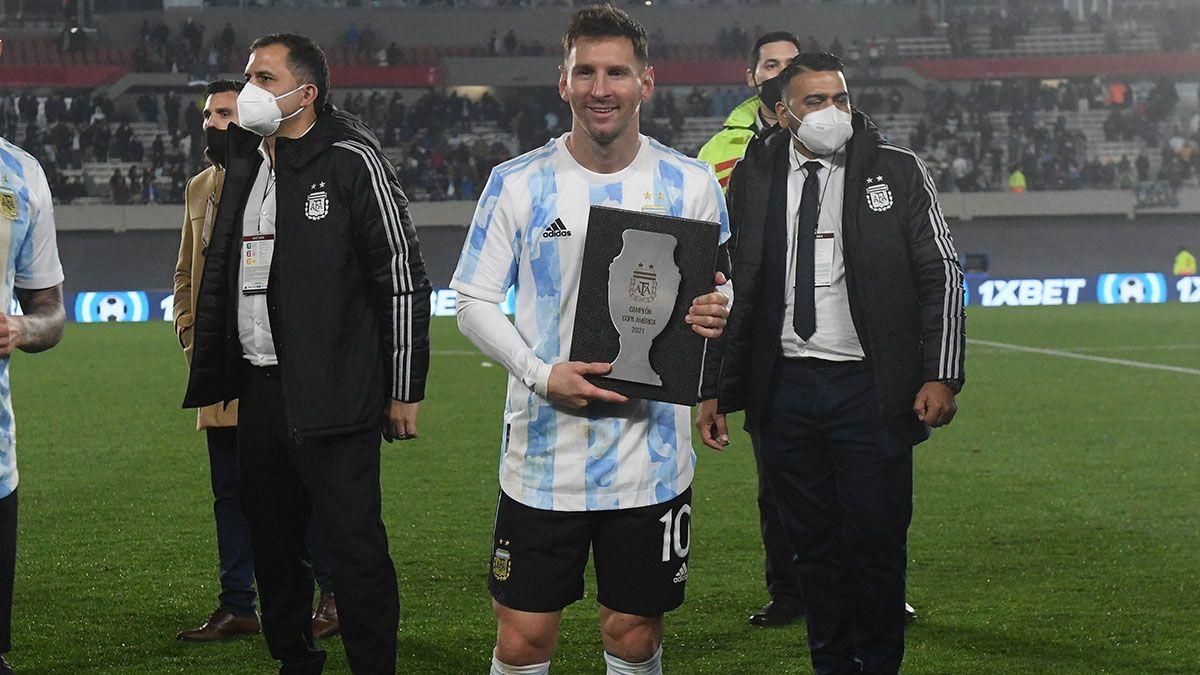 Los campeones de América recibieron el reconocimiento en el Monumental.