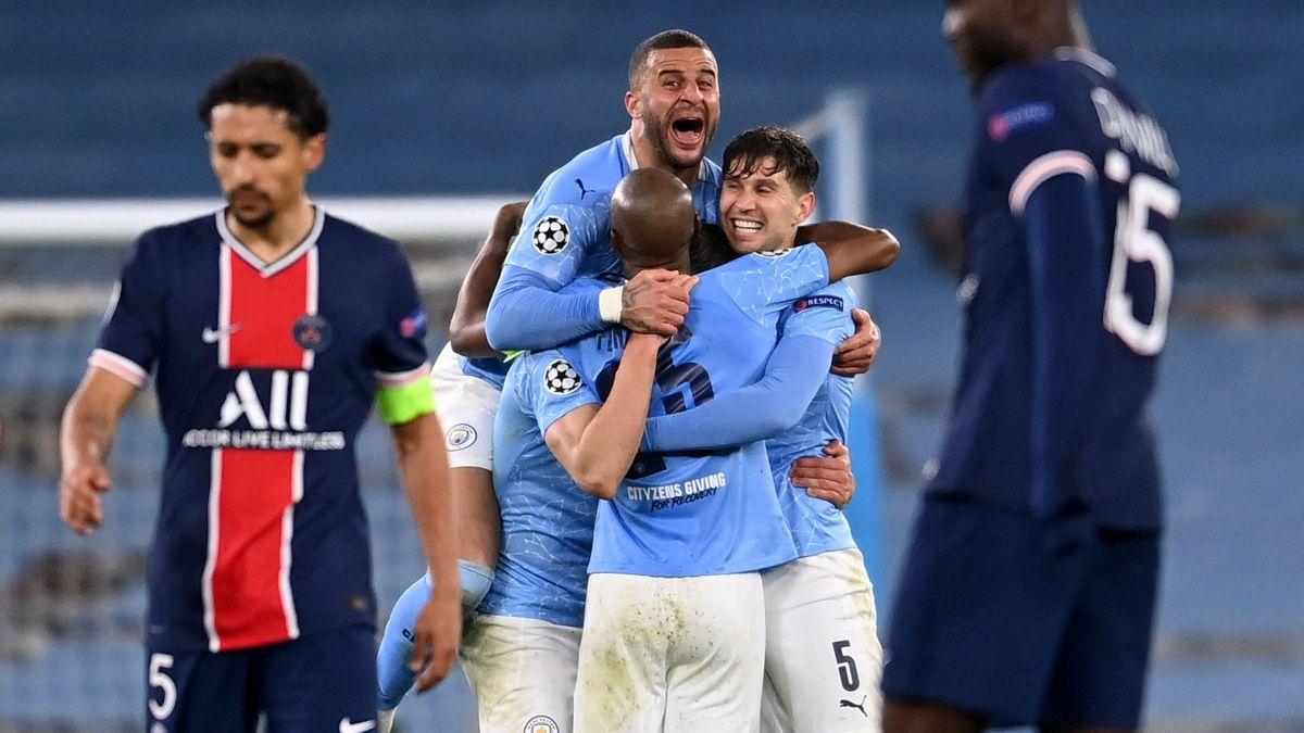 El Manchester City se convirtió en el primer finalista de la Liga de Campeones.