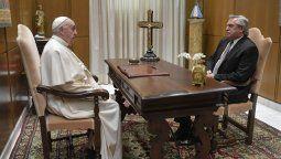 El presidente Alberto Fernández se reunió esta mañana en el Vaticano con el papa Francisco, en el marco de su cuarta y última escala de la gira europea que esta semana lo llevó a Portugal, España y Francia.
