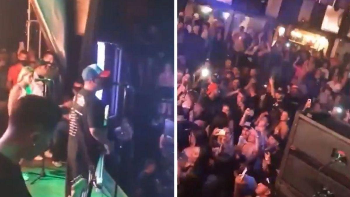 Damas Gratis tocó para una multitud en Pinar de Rocha.